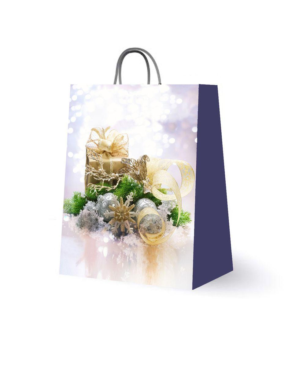 Пакет подарочный Magic Time, цвет: белый, сиреневый, 18 х 23 х 10 см. 2759727597Подарочный пакет Magic Time, изготовленный из плотной бумаги, станет незаменимым дополнением к выбранному подарку. Для удобной переноски на пакете имеются две ручки из шнурков.Подарок, преподнесенный в оригинальной упаковке, всегда будет самым эффектным и запоминающимся. Окружите близких людей вниманием и заботой, вручив презент в нарядном, праздничном оформлении.