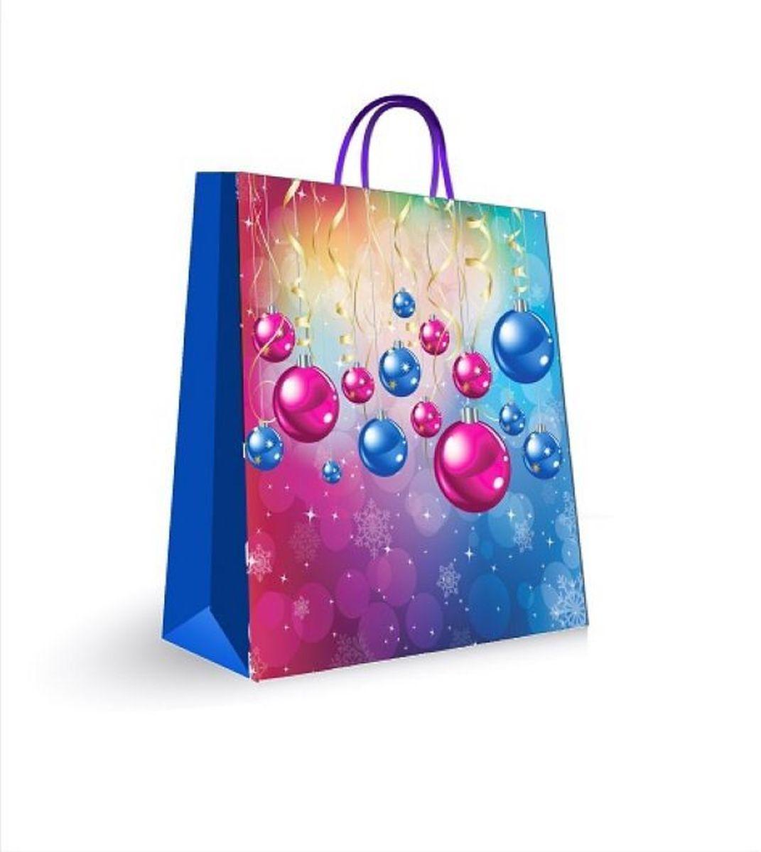 Пакет подарочный Magic Time, цвет: синий, 18 х 23 х 10 см. 3144831448Подарочный пакет Magic Time, изготовленный из плотной бумаги, станет незаменимым дополнением к выбранному подарку. Для удобной переноски на пакете имеются две ручки из шнурков.Подарок, преподнесенный в оригинальной упаковке, всегда будет самым эффектным и запоминающимся. Окружите близких людей вниманием и заботой, вручив презент в нарядном, праздничном оформлении.