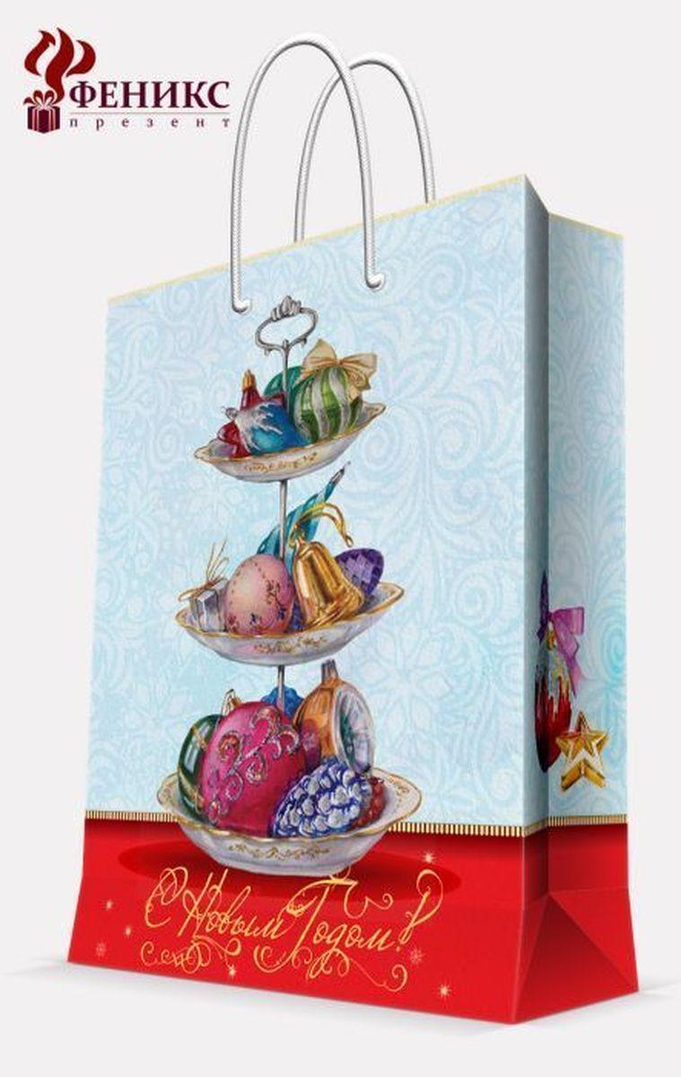 Пакет подарочный Magic Time Стеклянные сласти, 26 х 32,4 х 12,7 см magic time подарочный пакет снегурочка с малышом 26 32 4 12 7 см