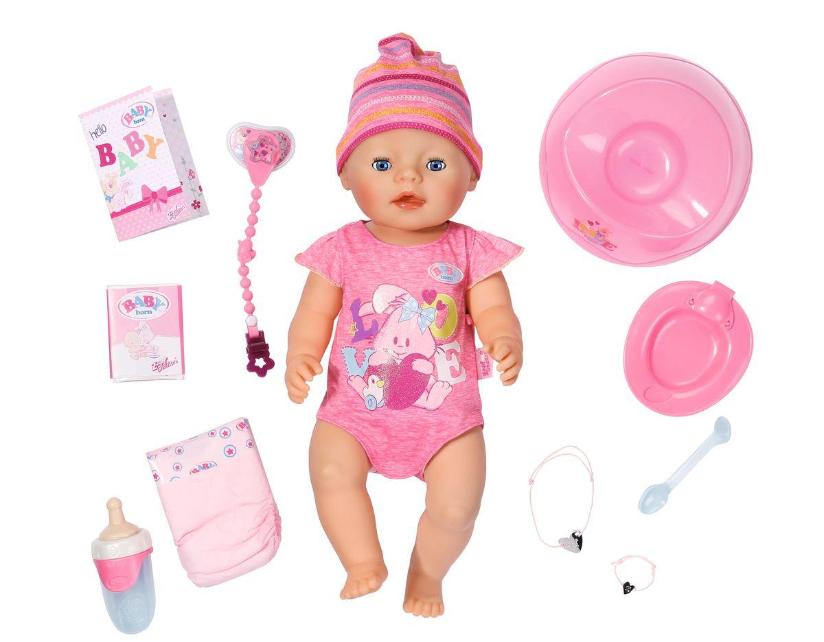 Baby Born Интерактивная кукла кукла baby born