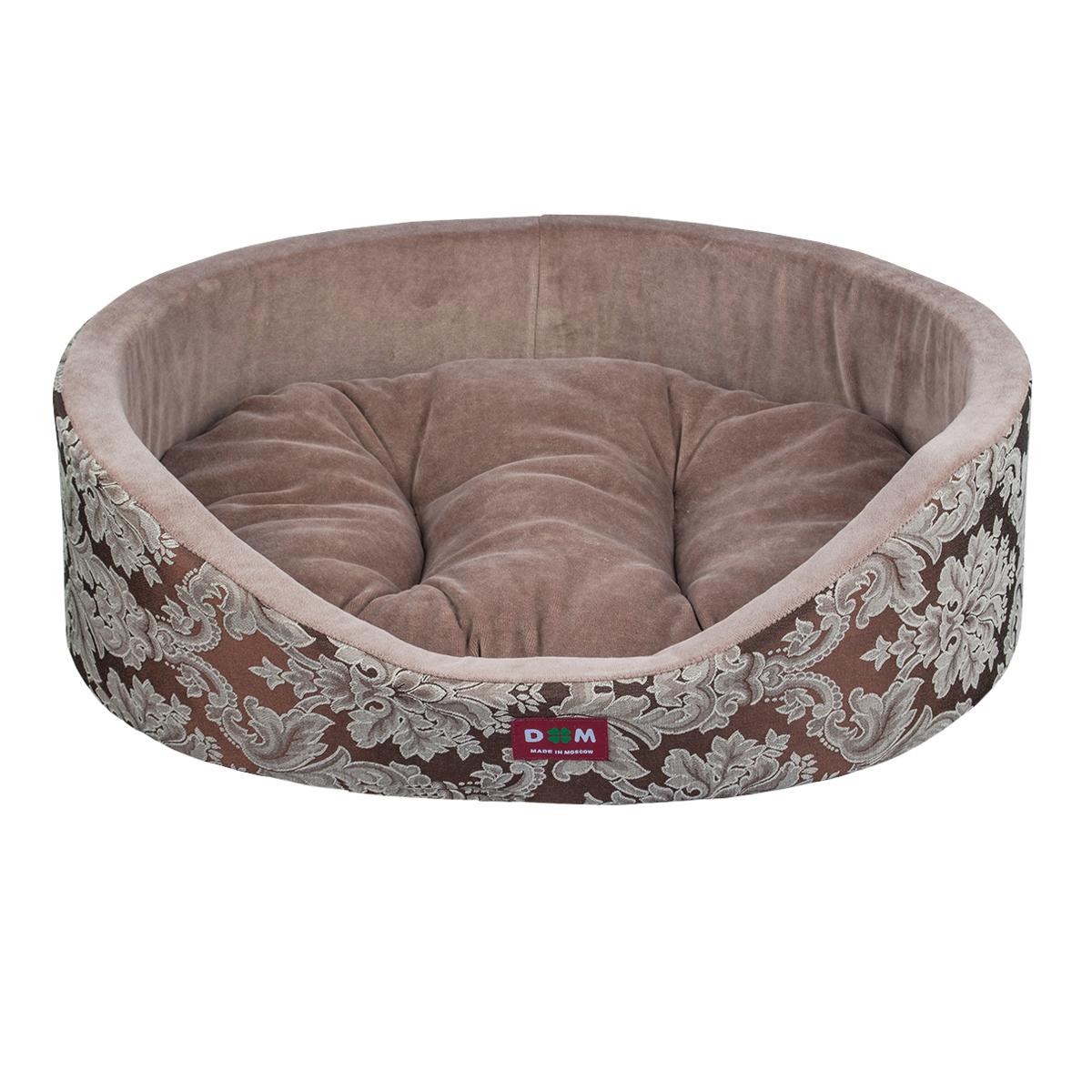 Лежак для животных Dogmoda Классика, 54 х 46 х 16 см. DM-160277-2 комбинезон для собак dogmoda doggs active для мальчика 54 dm 160312
