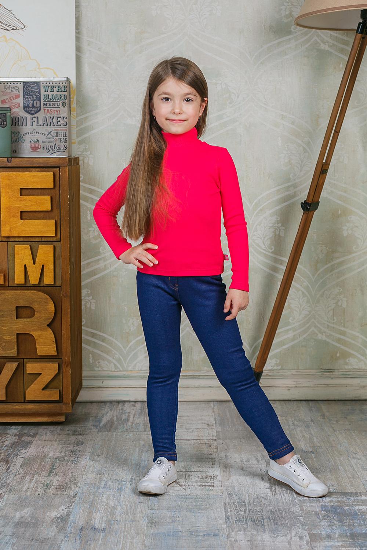 Водолазка для девочки Sweet Berry, цвет: фуксия. 205515. Размер 98205515Водолазка для девочки Sweet Berry изготовлена из хлопка с добавлением эластана. Высокий воротник надежно защищает от ветра. Базовая модель позволяет создавать стильные образы.
