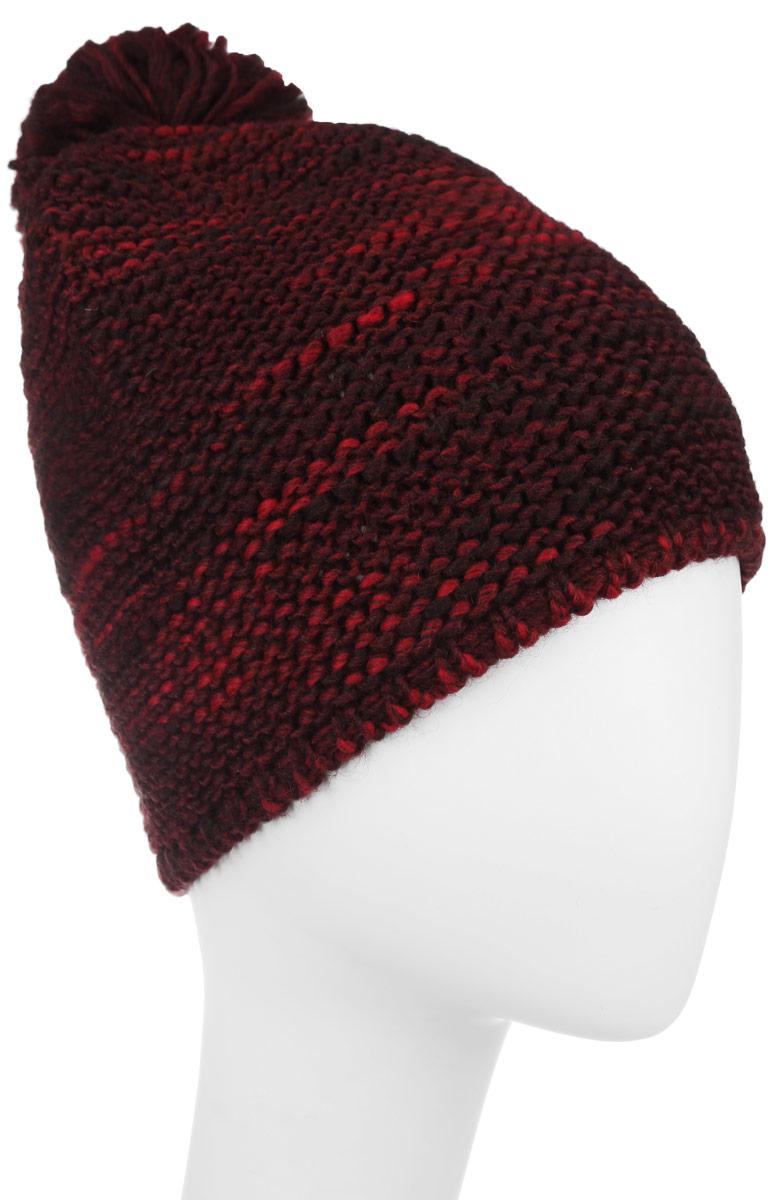 Шапка женская Lee, цвет: темно-красный. LW1146PD. Размер универсальныйLW1146PDЖенская шапка Lee отлично дополнит ваш образ в холодную погоду. Сочетание шерсти и акрила максимально сохраняет тепло и обеспечивает удобную посадку, невероятную легкость и мягкость.Оформлено изделие небольшойпластиной с названием бренда. Стильная шапка Lee подчеркнет ваш неповторимый стиль и индивидуальность. Такая модель составит идеальный комплект с модной верхней одеждой, в ней вам будет уютно и тепло.