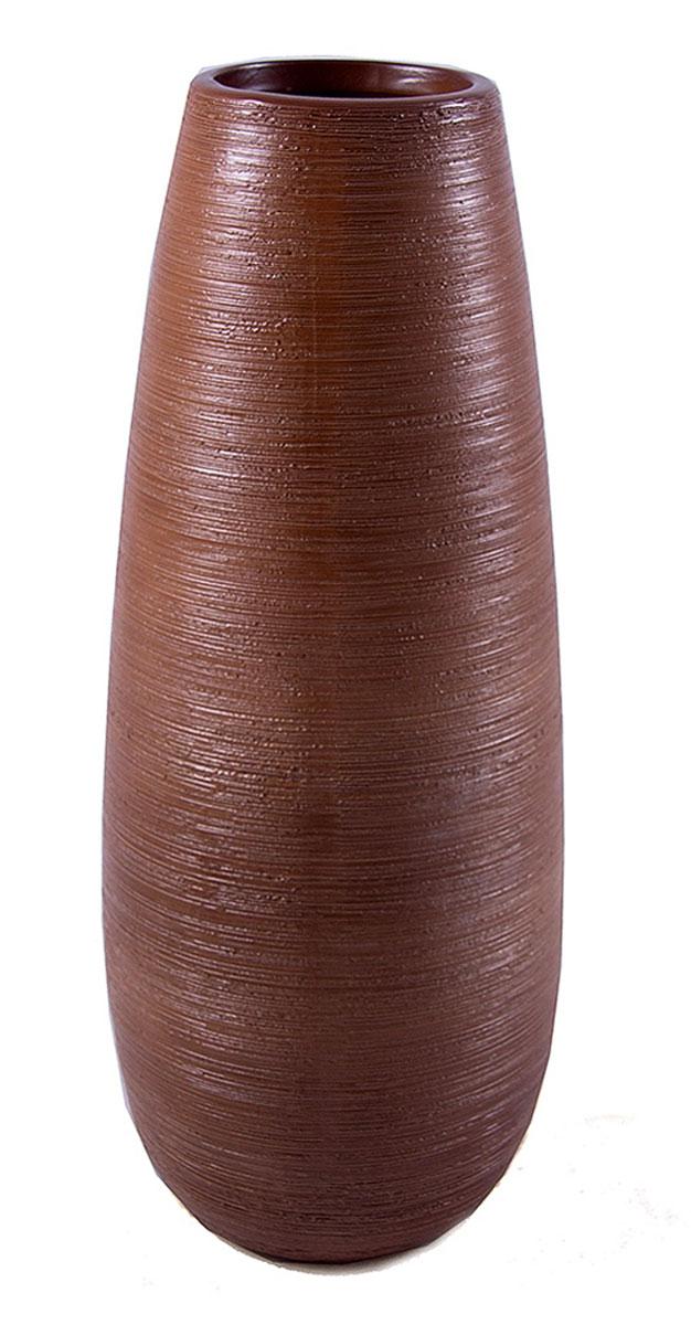 Ваза Русские Подарки, высота 32 см. 114813114813Ваза Русские Подарки, выполненная из керамики, украсит интерьер вашего дома или офиса. Оригинальный дизайн и красочное исполнение создадут праздничное настроение.Такая ваза подойдет и для цветов, и для декора интерьера. Кроме того - это отличный вариант подарка для ваших близких и друзей.Правила ухода: мыть теплой водой с применением нейтральных моющих средств. Размер вазы: 12 х 12 х 32 см.