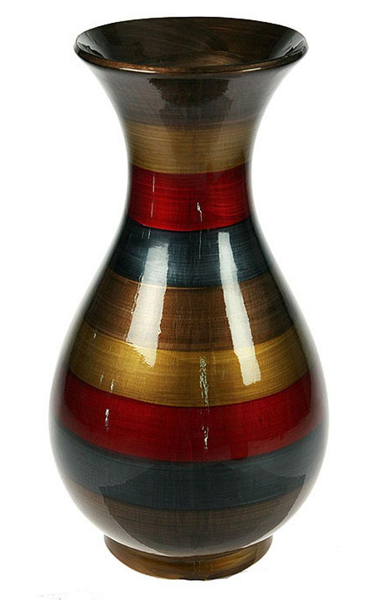 Ваза Русские Подарки, высота 31 см. 115911115911Ваза Русские Подарки, выполненная из керамики, украсит интерьер вашего дома или офиса. Оригинальный дизайн и красочное исполнение создадут праздничное настроение.Такая ваза подойдет и для цветов, и для декора интерьера. Кроме того - это отличный вариант подарка для ваших близких и друзей.Правила ухода: мыть теплой водой с применением нейтральных моющих средств. Размер вазы: 17 х 17 х 31 см.