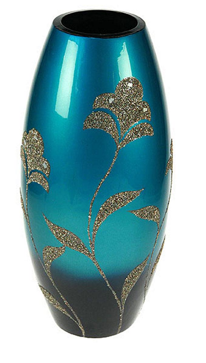 Ваза Русские Подарки, высота 41 см. 1490614906Ваза Русские Подарки, выполненная из керамики, украсит интерьер вашего дома или офиса. Оригинальный дизайн и красочное исполнение создадут праздничное настроение.Такая ваза подойдет и для цветов, и для декора интерьера. Кроме того - это отличный вариант подарка для ваших близких и друзей.Правила ухода: регулярно вытирать пыль сухой, мягкой тканью. Размер вазы: 18 х 18 х 41 см.