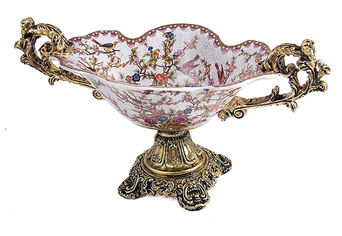 Ваза Русские Подарки, диаметр 41 см. 151234 ваза русские подарки винтаж высота 31 см 123710