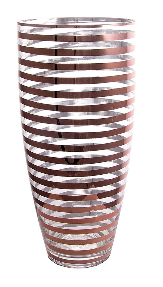 Ваза Русские Подарки, высота 38 см. 5141251412Ваза Русские Подарки, выполненная из стекла, украсит интерьер вашего дома или офиса. Оригинальный дизайн и красочное исполнение создадут праздничное настроение.Такая ваза подойдет и для цветов, и для декора интерьера. Кроме того - это отличный вариант подарка для ваших близких и друзей.Правила ухода: мыть теплой водой с применением нейтральных моющих средств.Высота вазы: 38 см.Диаметр вазы: 18 см.