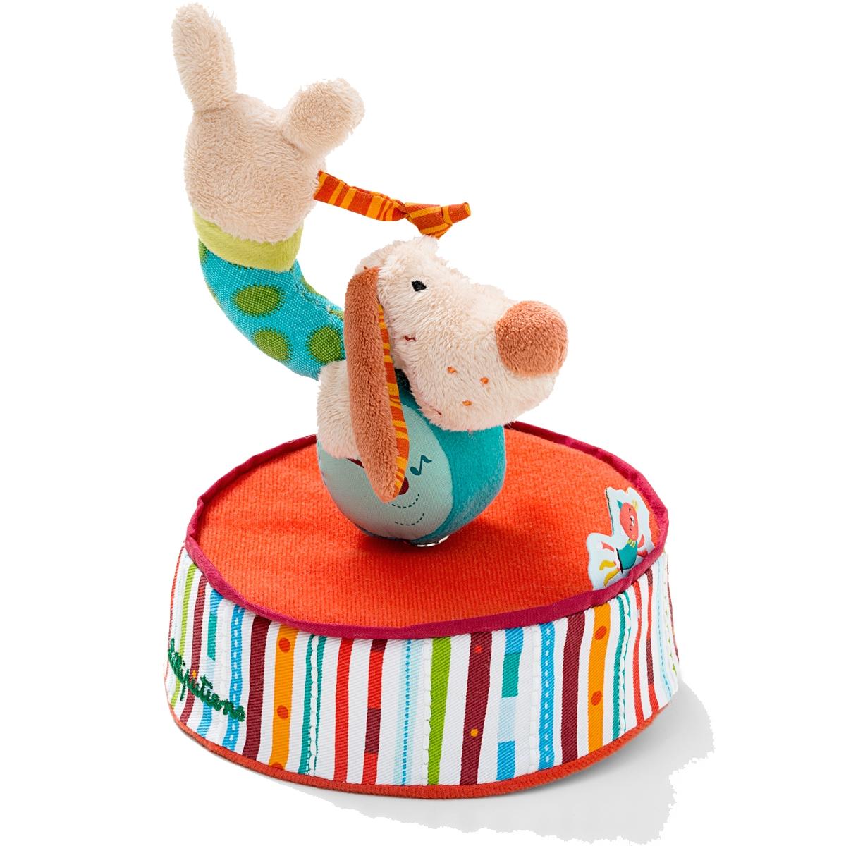 Lilliputiens Игрушка музыкальная заводная Собачка Джеф заводная машина игрушка