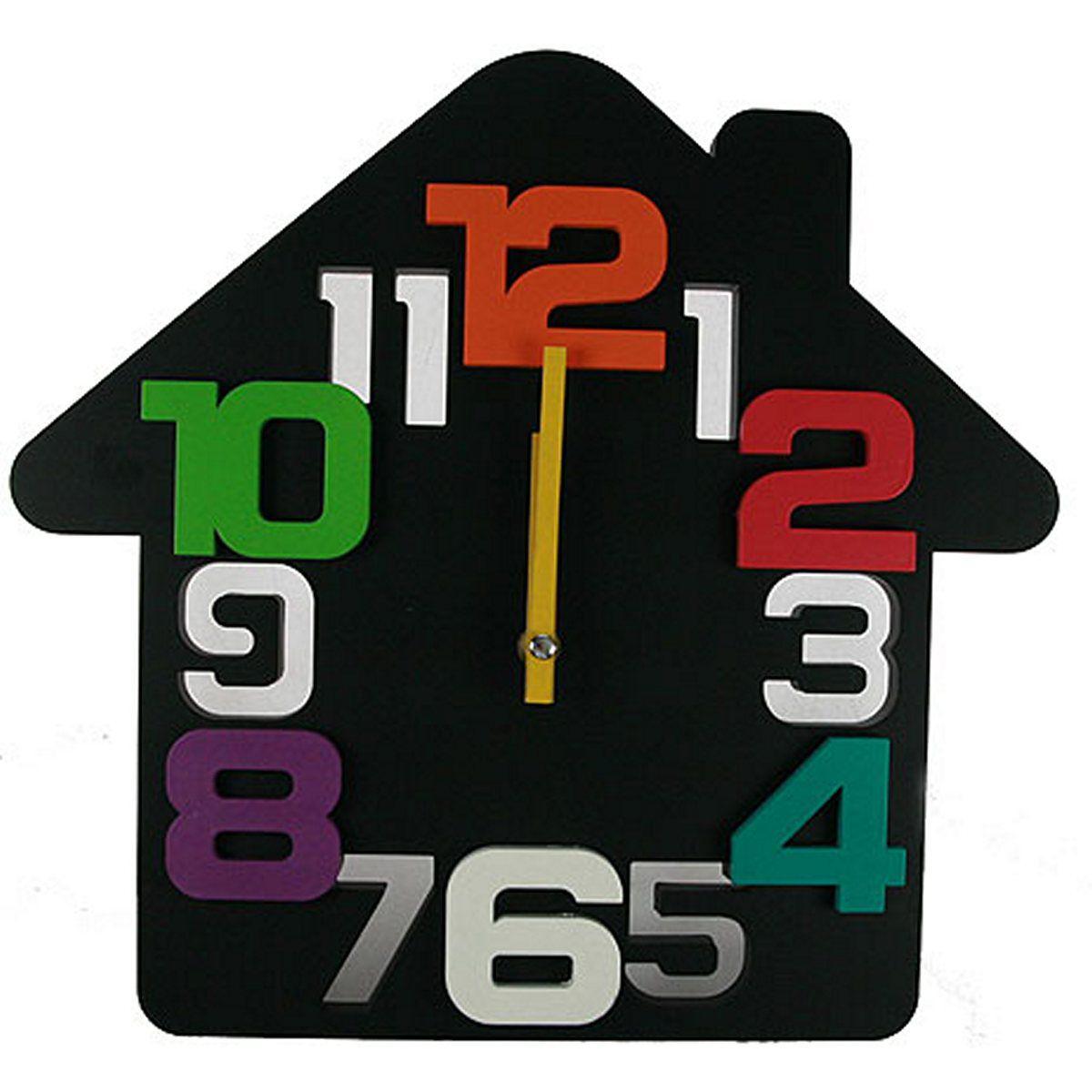 Часы настенные Русские Подарки Домик. 222418222418Настенные кварцевые часы Русские Подарки Домик изготовлены из пластика. Корпус оригинально оформлен в виде домика. Часы имеют две стрелки - часовую и минутную. С обратной стороны имеется петелька для подвешивания на стену.Такие часы красиво и необычно оформят интерьер дома или офиса. Также часы могут стать уникальным, полезным подарком для родственников, коллег, знакомых и близких. Часы работают от батареек типа АА (в комплект не входят).