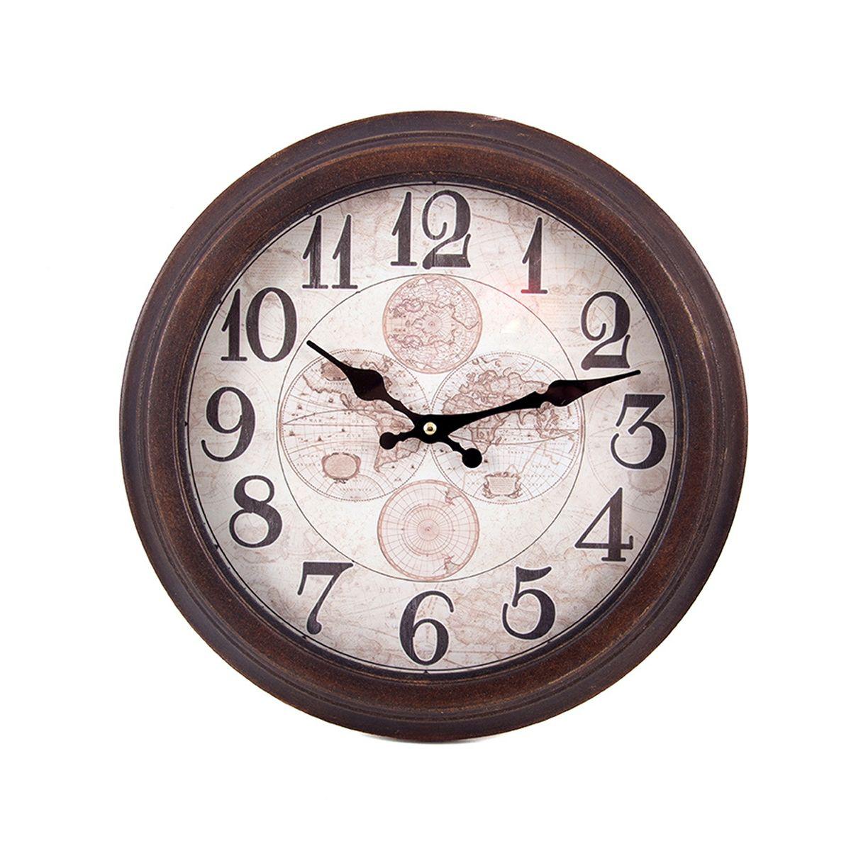 Часы настенные Русские Подарки, 35 х 5 х 35 см. 29635