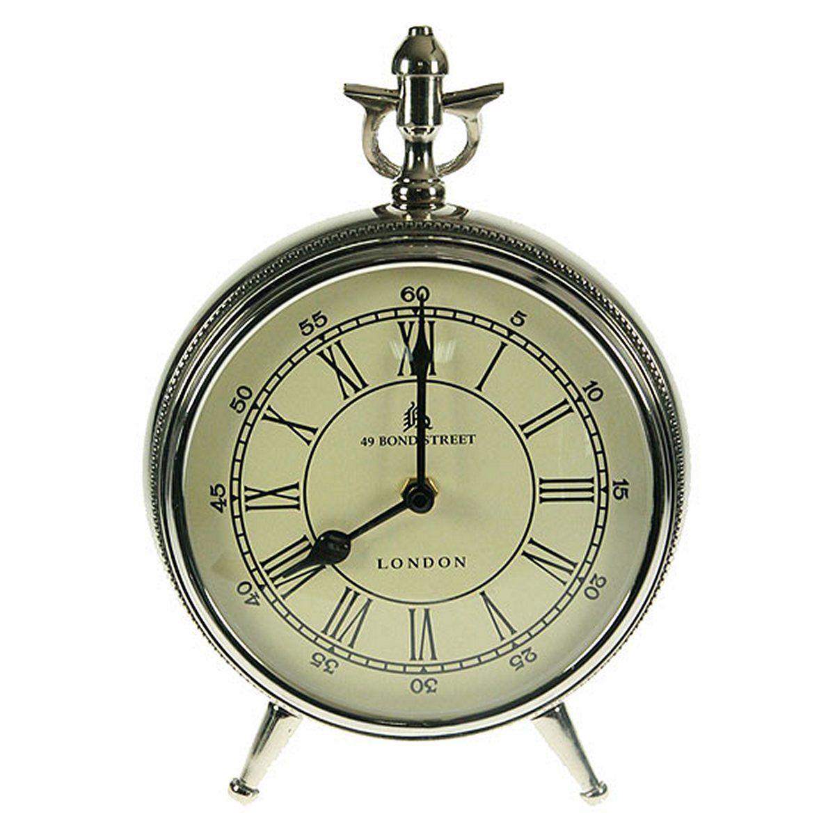 Часы настольные Русские Подарки, 18 х 11 х 24 см. 3582235822Настольные кварцевые часы Русские Подарки изготовлены из металла, циферблат защищен стеклом. Часы имеют две стрелки - часовую и минутную. Такие часы красиво и необычно оформят интерьер дома или рабочий стол в офисе. Также часы могут стать уникальным, полезным подарком для родственников, коллег, знакомых и близких.