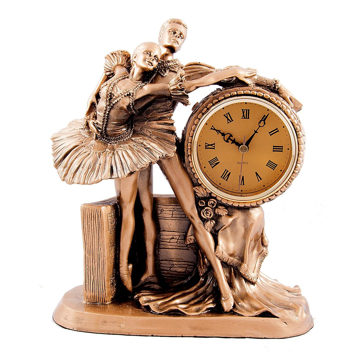 Часы настольные Русские Подарки Балет, 23 х 12 х 26 см. 59373 балет щелкунчик