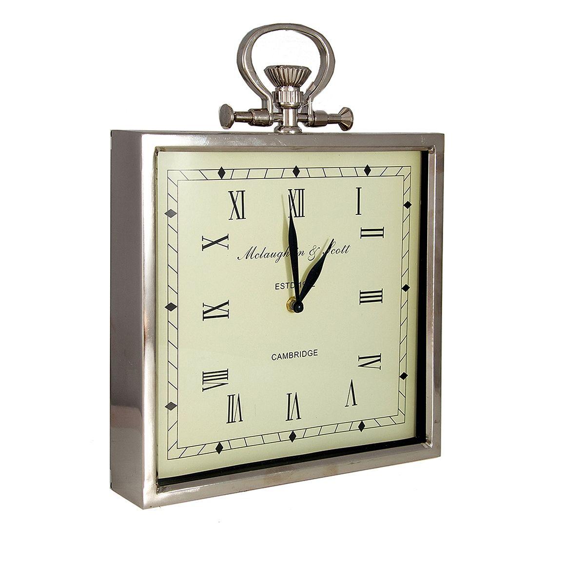 Часы настенные Русские Подарки Классика, 28 х 6 х 34 см. 6060460604Настенные кварцевые часы Русские Подарки Классика изготовлены из металла. Корпус выполнен в классическом стиле. Циферблат защищен стеклом. Часы имеют две стрелки - часовую и минутную. Имеется петелька для подвешивания на стену.Такие часы красиво и необычно оформят интерьер дома или офиса. Также часы могут стать уникальным, полезным подарком для родственников, коллег, знакомых и близких. Часы работают от батареек типа АА (в комплект не входят).