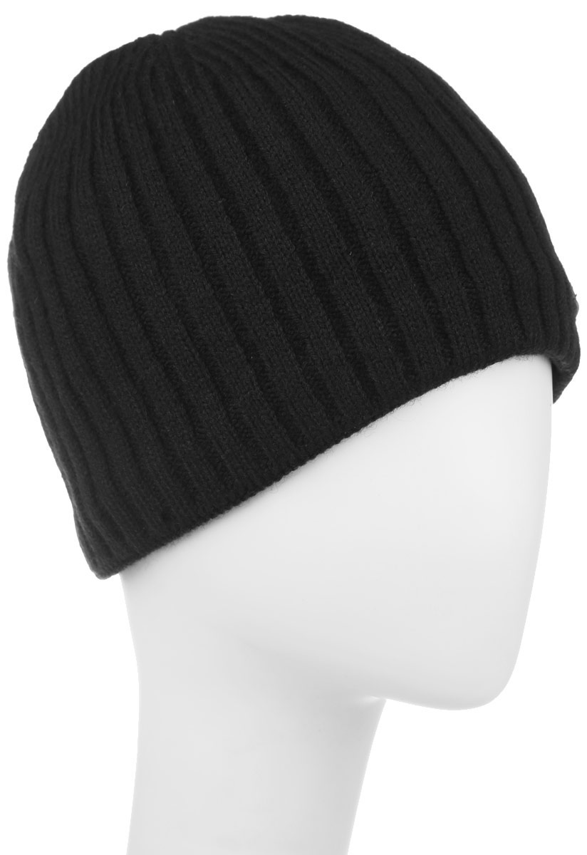 Шапка мужская Baon, цвет: черный. B846519. Размер универсальныйB846519Классическая мужская шапка Baon отлично дополнит ваш образ в холодную погоду. Сочетание шерсти и акрила максимально сохраняет тепло и обеспечивает удобную посадку, невероятную легкость и мягкость. Внутренняя сторона шапки утеплена мягким флисом. Оформлено изделие небольшой пластиной с названием бренда. Стильная шапка Baon подчеркнет ваш неповторимый стиль и индивидуальность. Такая модель составит идеальный комплект с модной верхней одеждой, в ней вам будет уютно и тепло.
