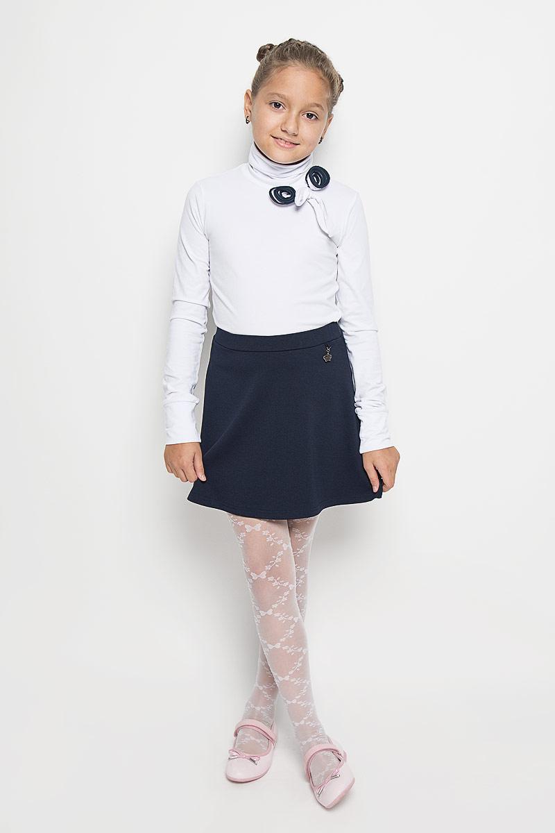 Водолазка для девочки Nota Bene, цвет: белый. AW15GS276B-1. Размер 164 платье tutto bene tutto bene tu009ewzwn18