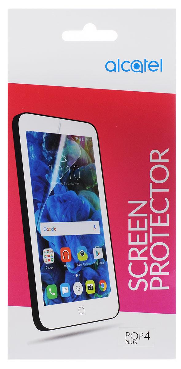 Alcatel Crystal защитная пленка для Pop 4+ (5056)G5056-3AALSPG-RUЗащитная пленка Alcatel Crystal для Pop 4+ (5056) надежно предохраняет экран смартфона от мелких механических повреждений, царапин и потертостей, полностью сохраняя чувствительность сенсора и яркость цветопередачи.