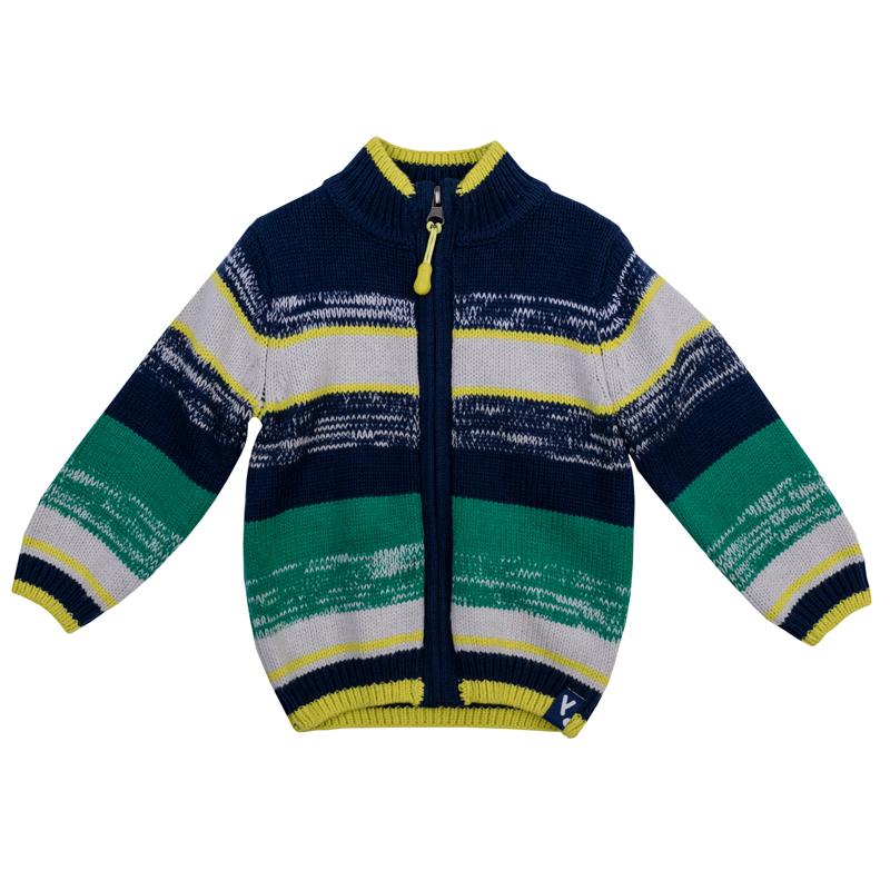 Кофта для мальчика PlayToday Baby, цвет: темно-синий, зеленый, серый. 367005. Размер 80 кофта для мальчика котмаркот цвет бирюзовый черный серый 7120 размер 80