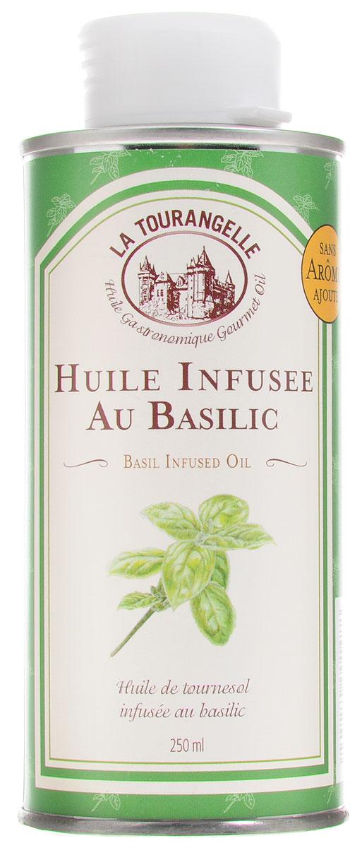 La Tourangelle Basil Infused Oil масло подсолнечное с экстрактом базилика, 250 мл масло из грецкого ореха la tourangelle нерафинированное 250 мл франция