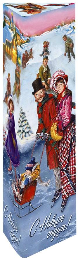 Дольче Вита Новогодняя Прогулка черный ароматизированный листовой чай, 75 г дольче вита с рождеством христовым черный листовой чай 170 г