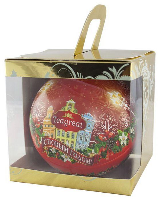 Дольче Вита Новогодний черный листовой чай (цвет красный), 50 г greenfield winter charm черный листовой чай с ароматом красных ягод и можжевельника 120 г