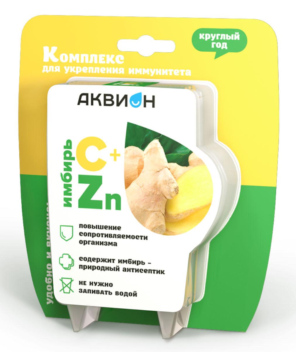 Комплекс для укрепления иммунитета Аквион С+ и Zn, имбирь, 10 саше x 2 г18081Комплекс для укрепления иммунитета Аквион С+ и Zn с имбирем - простые и удобные продукты для укрепления защитных сил организма. Положительное действие витамина С и цинка на иммунную систему усилено натуральными компонентами.Для укрепления иммунитета:- Высокие дозировки активных веществ – витамина С и цинка.- Сочетание местного и общего действия. - Не требуется запивать водой.- Без сахара.Товар не является лекарственным средством.Товар не рекомендован для лиц младше 18 лет.Могут быть противопоказания и следует предварительно проконсультироваться со специалистом.