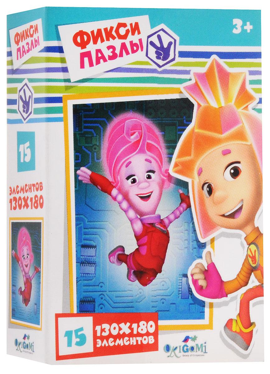 Оригами Пазл для малышей Фиксики Прыжок фиксики настольная игра поле пазл тыдыщь в подарок мини пазл 20 элементов фиксики