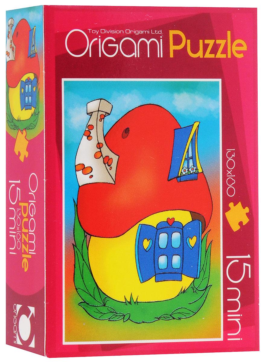 Оригами Пазл для малышей Домик