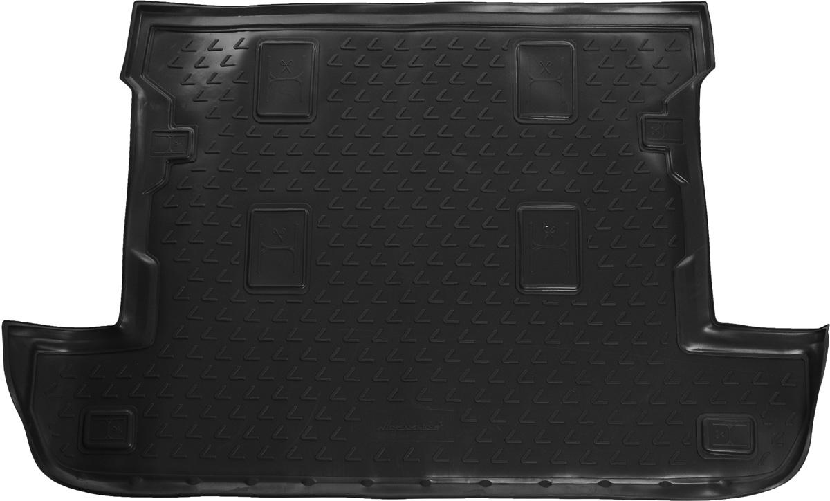 Коврик в багажник LEXUS LX 570 2007-2012, 2012->, внед. 7 мест, кор. (полиуретан, серый)NLC.29.07.B12gАвтомобильный коврик в багажник позволит вам без особых усилий содержать в чистоте багажный отсек вашего авто и при этом перевозить в нем абсолютно любые грузы. Этот модельный коврик идеально подойдет по размерам багажнику вашего авто. Такой автомобильный коврик гарантированно защитит багажник вашего автомобиля от грязи, мусора и пыли, которые постоянно скапливаются в этом отсеке. А кроме того, поддон не пропускает влагу. Все это надолго убережет важную часть кузова от износа. Коврик в багажнике сильно упростит для вас уборку. Согласитесь, гораздо проще достать и почистить один коврик, нежели весь багажный отсек. Тем более, что поддон достаточно просто вынимается и вставляется обратно. Мыть коврик для багажника из полиуретана можно любыми чистящими средствами или просто водой. При этом много времени у вас уборка не отнимет, ведь полиуретан устойчив к загрязнениям.Если вам приходится перевозить в багажнике тяжелые грузы, за сохранность автоковрика можете не беспокоиться. Он сделан из прочного материала, который не деформируется при механических нагрузках и устойчив даже к экстремальным температурам. А кроме того, коврик для багажника надежно фиксируется и не сдвигается во время поездки — это дополнительная гарантия сохранности вашего багажа.