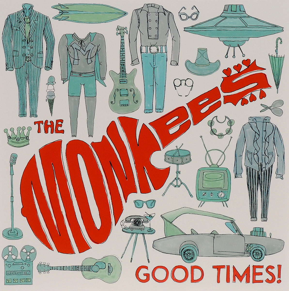 The Monkees The Monkees. Good Times! (LP) сумка cambridge the satchel company 13