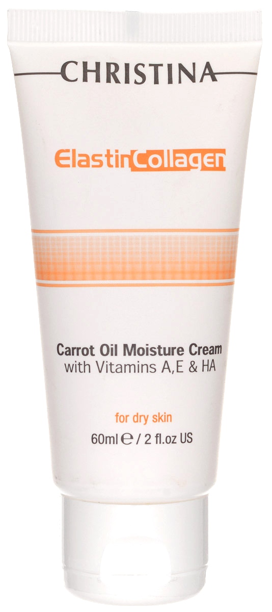 Christina Увлажняющий крем с морковным маслом, коллагеном и эластином Elastin Collagen Carrot Oil Moisture Cream with Vit A, E and HA 60 мл 1 2 air compressor oil lubricator moisture water trap filter regulator with mount