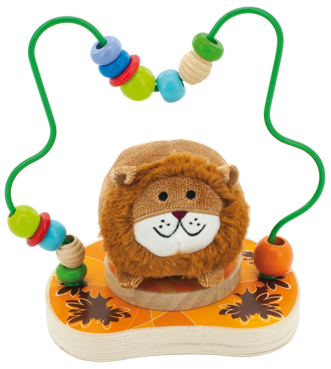 Мир деревянных игрушек Лабиринт Лева игрушка мир деревянных игрушек лабиринт буренка д384