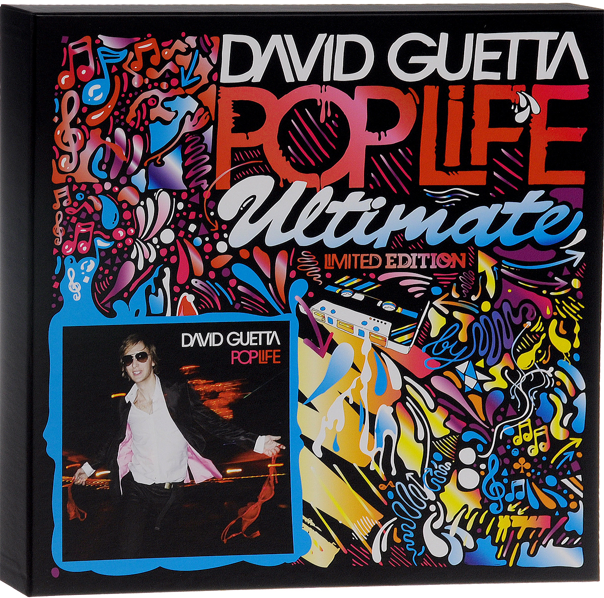 Дэвид Гетта David Guetta. Pop Life Ultimate. Limited Edition (3 CD + DVD + LP) дэвид гетта flo rida ники минаж тайо круз лудакрис afrojack дженифер хадсон jessie j david guetta nothing but the beat 2 lp
