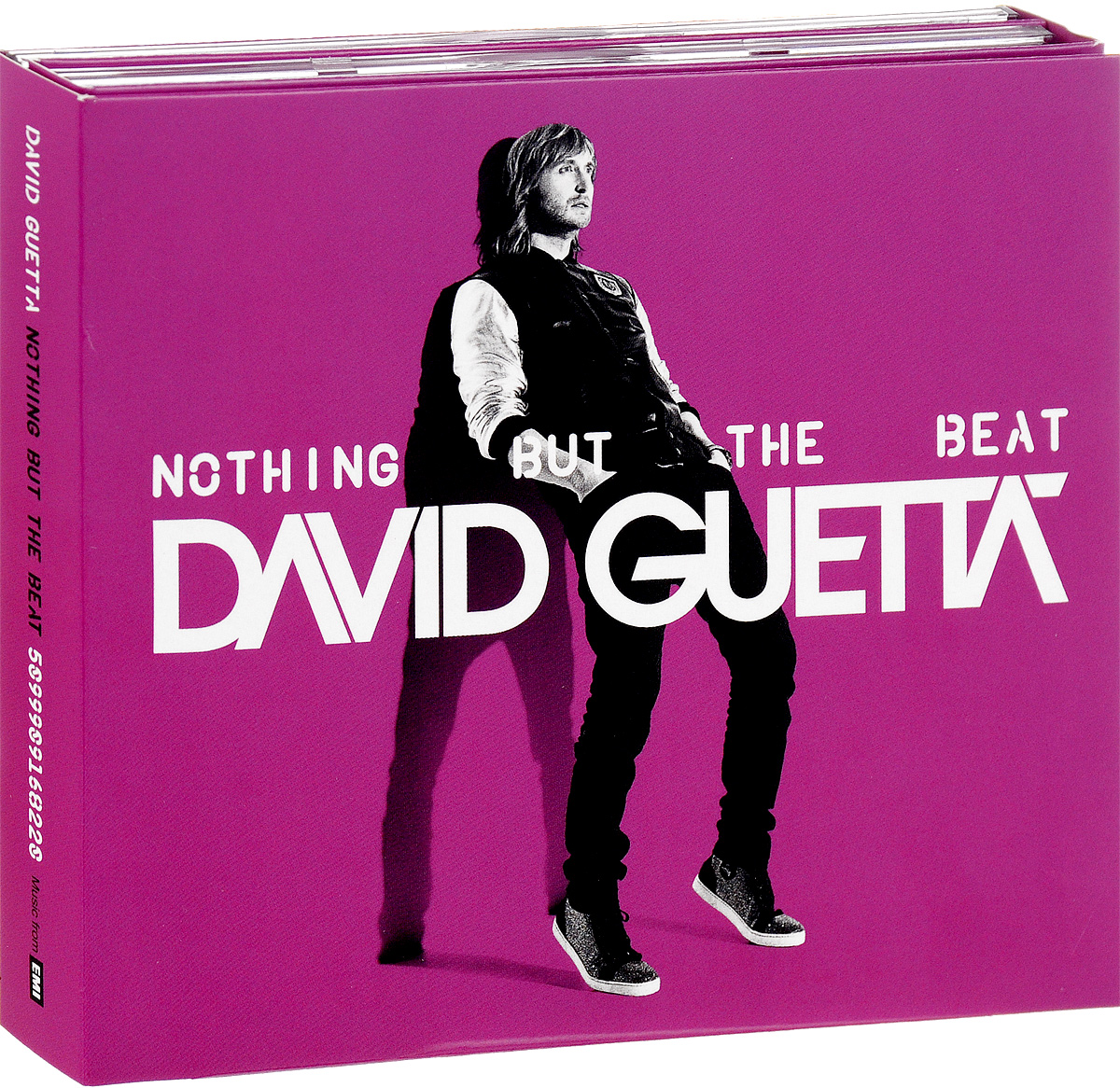 Дэвид Гетта,Ники Минаж,Flo Rida,Тайо Круз,Sia,Jessie J,Avicii,Afrojack,will.i.am,Akon,Timbaland David Guetta. Nothing But The Beat (3 CD) дэвид гетта david guetta original album series 5 cd