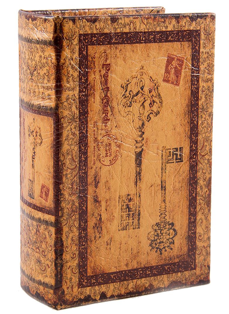 Шкатулка-фолиант Win Max Ключи, 17 х 11 х 5 см. 184243 шкатулка фолиант париж 21 14 3см