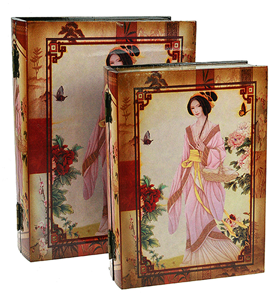 """Набор сундучков """"Roura Decoracion"""" станет полезным и особо желанным подарком для женщин, так как в них можно хранить что угодно, будь то инструменты для рукоделия, украшения или просто маленькие женские секреты. В комплекте 2 сундучка размером 28 см х 22 см х 8 см."""