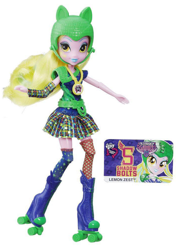 My Little Pony Equestria Girls Кукла Lemon Zest куклы my little pony equestria girls