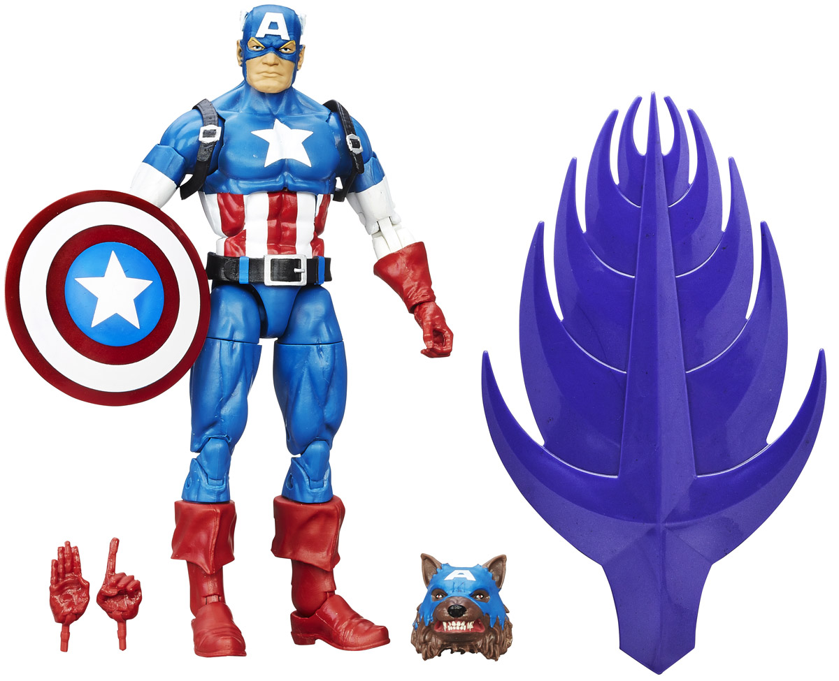 Marvel Фигурка Captain America B6394 1pc captain america marvel super heroes the avengers diy figures assemble building blocks kids toys xmas gift
