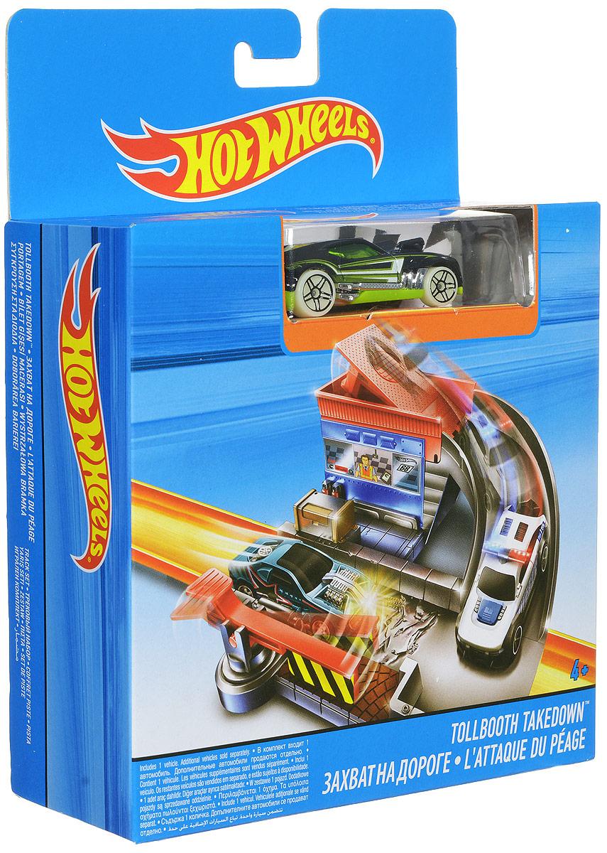 Hot Wheels Игрушечный трек Захват на дороге hot wheels track builder игрушечный трек стартовый набор для трюков