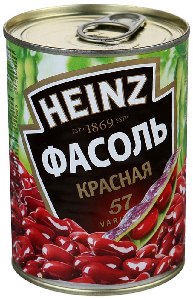 Heinz фасоль красная, 400 г71849000Яркая и аппетитная красная фасоль Heinz - незаменимый ингредиент вкуснейших супов, салатов и закусок. Не содержит искусственных добавок и отвечает высочайшим стандартам качества.