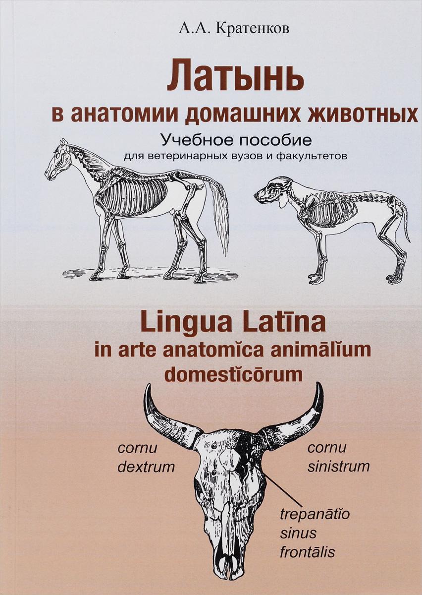Латынь в анатомии домашних животных. Учебное пособие