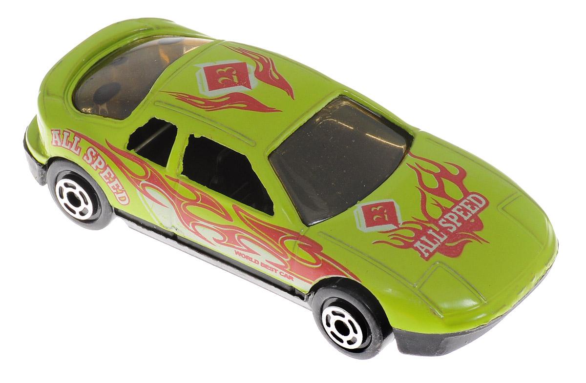 Big Motors Машинка цвет салатовый