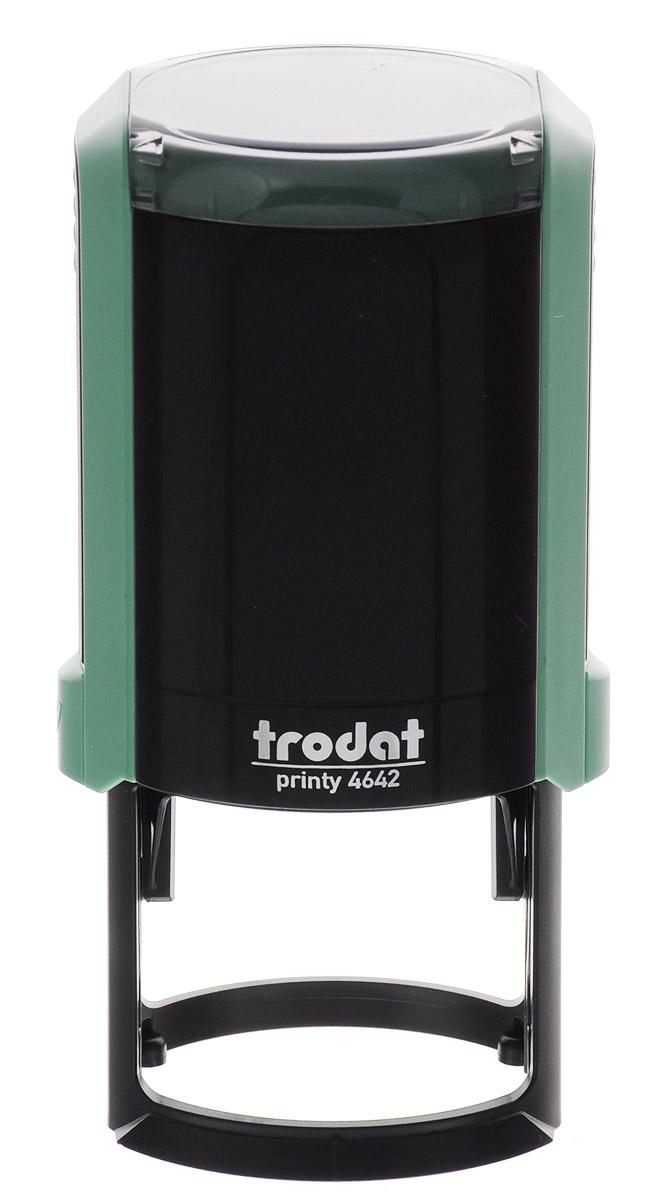 Trodat Оснастка для печати автоматическая Printy цвет зеленый 42 мм