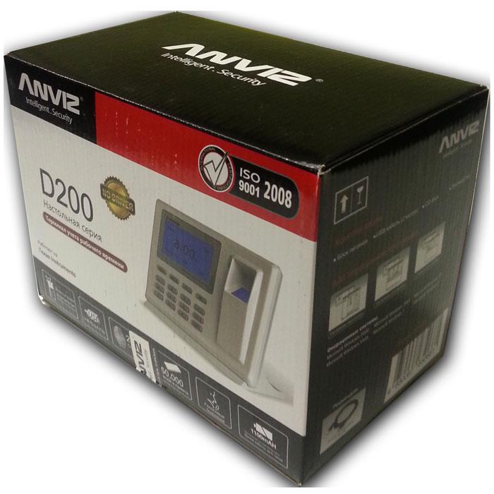 IVUE Anviz D200автономный терминал учета рабочего времени IVUE