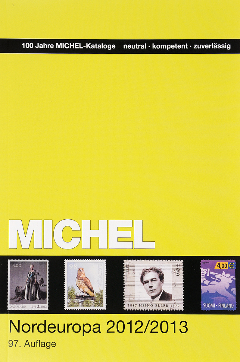 Каталог марок Michel. 2012/13 год. Сборник по маркам стран Северной Европы №342549 auto centrum katalog