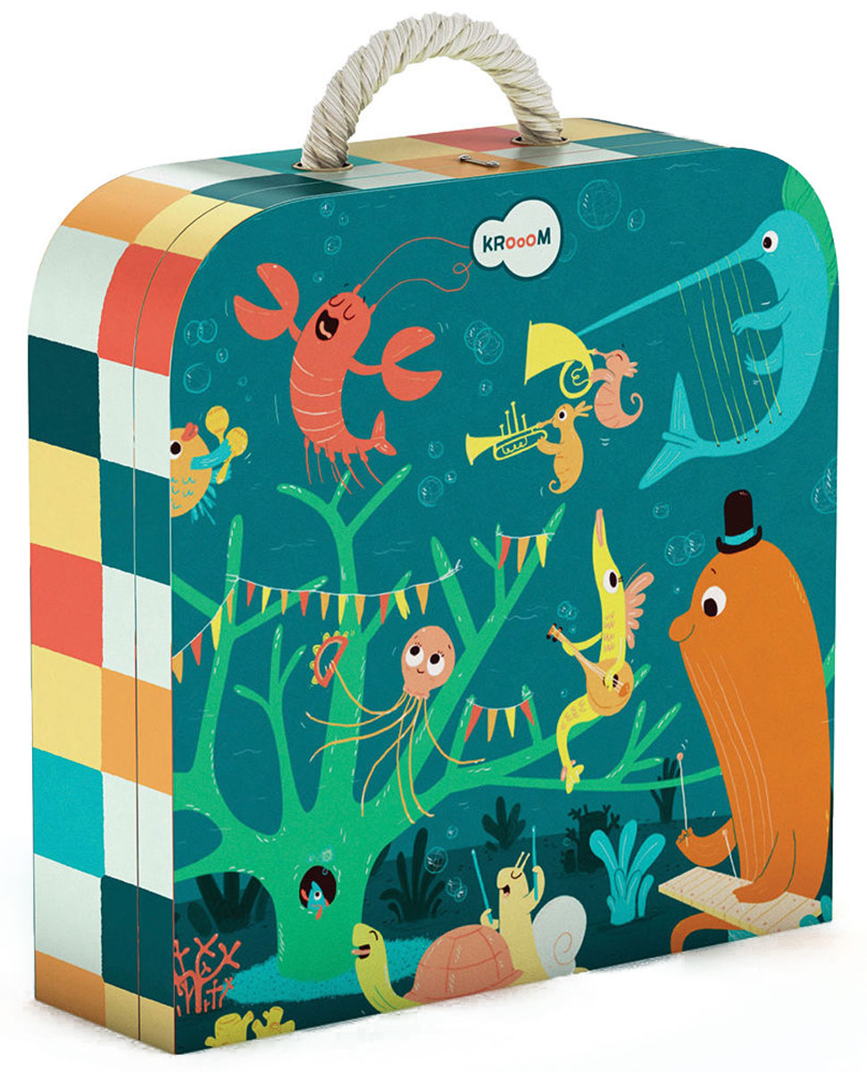 Krooom Пазл для малышей Морские животные
