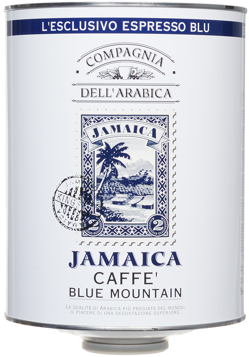 Compagnia Dell'Arabica Jamaica Blue Mountain кофе в зернах, 1,5 кг smile jamaica marley