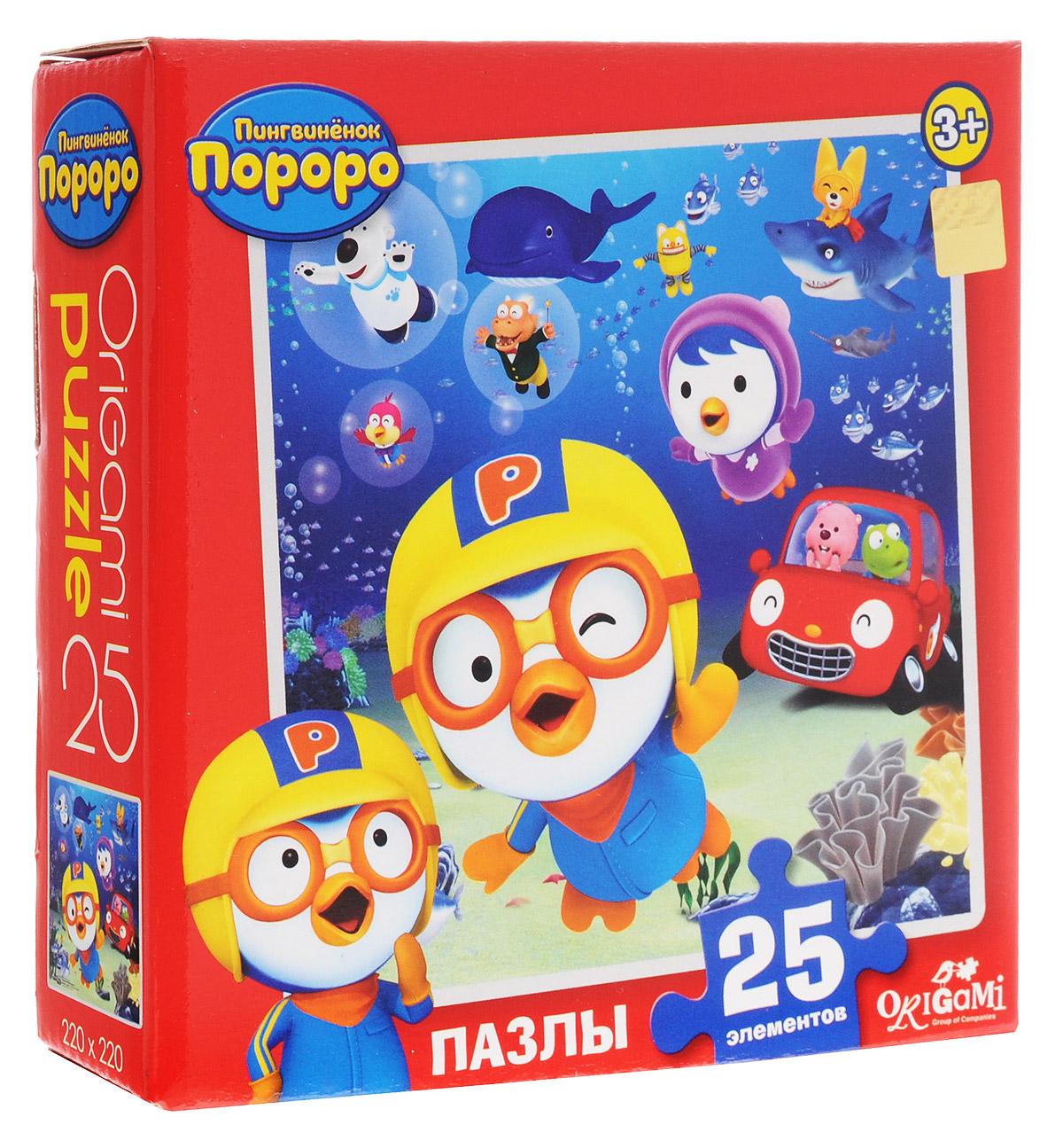 Оригами Пазл для малышей Пингвиненок Пороро 02147_1