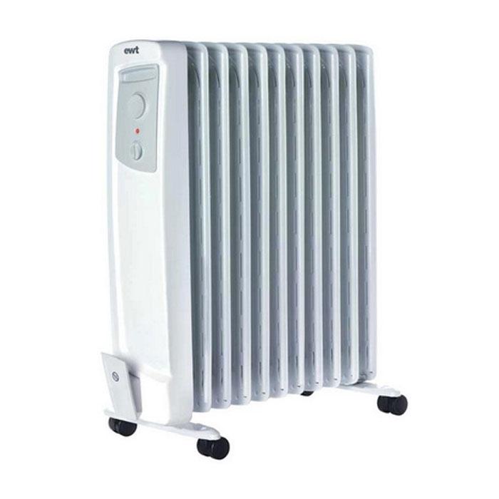 EWT OR 125TLS, White масляный радиатор обогреватель ewt or 120 tls