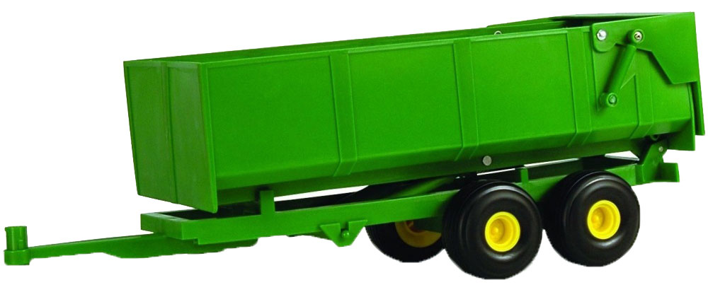Tomy Прицеп для самосвала Big Farm Bulk Tipping Trailer цвет зеленый kingtoy detachable remote control big digger size kingtoy fun 1 28 multifuncional rc farm trailer tractor truck free shipping